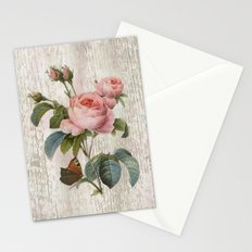 Roses Nostalgie Stationery Cards