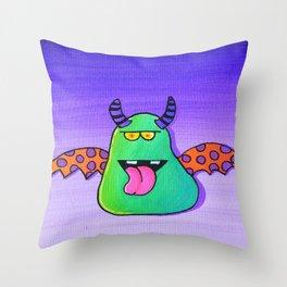 Creatch: Meet Maurice Throw Pillow