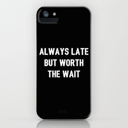 The Guilty Person V iPhone Case