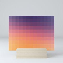 Lumen, Purple and Orange Glow Mini Art Print