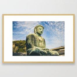 Daibutsu Framed Art Print
