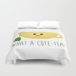 What A Cute-tea Duvet Cover