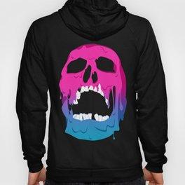 Melting Neon Skull Hoody