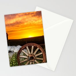 Wyoming Sunset Stationery Cards