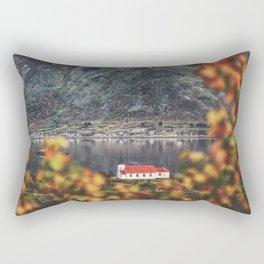 Tucked away Rectangular Pillow