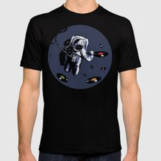 Interstellar Record Hunt Mens Fitted Tee Black MEDIUM