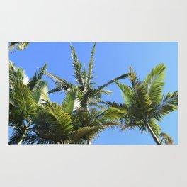 Queensland Palmtrees Colour Rug