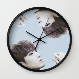 Double Wonwoo Wall Clock
