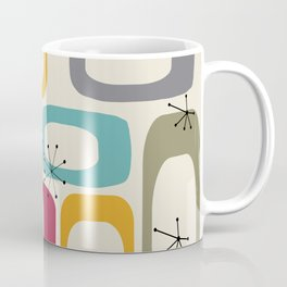 Mid Century Modern Shapes 01 #society6 #buyart  Coffee Mug