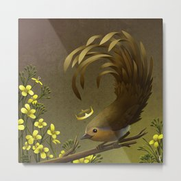 The Mustard Marquis Metal Print