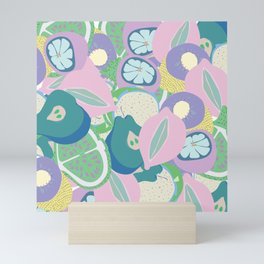 Trippy sangria Mini Art Print