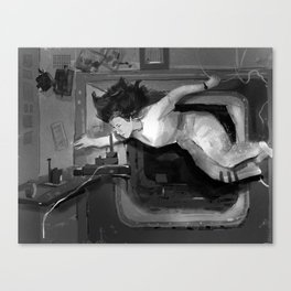 Women in Science, Cady Coleman Canvas Print