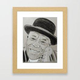 Buddy Guy Framed Art Print