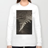 fern Long Sleeve T-shirts featuring Fern by Olivia Joy StClaire