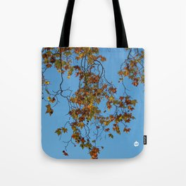 A Contrast Of Colour Tote Bag