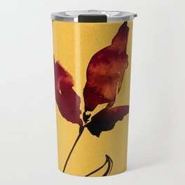 Floral Abstract No.2s by Kathy Morton Stanion Travel Mug