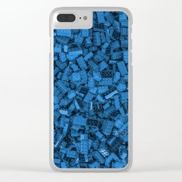 Master builder Blue Clear iPhone Case