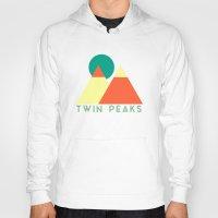 twin peaks Hoodies featuring Twin Peaks by Victor Velocity