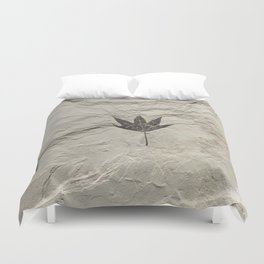 Nature - Leaf in our Past Duvet Cover