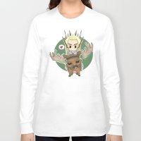 thranduil Long Sleeve T-shirts featuring  Thranduil by YattaGiulia