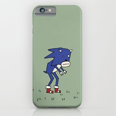 Sad Sonic The Hedgehog In A Field Slim Case iPhone 6s