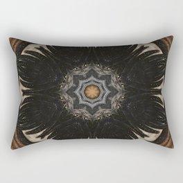 Shaman // Visionary Art Sacred Geometry Spirit Consciousness Earth Energy Healing Rectangular Pillow