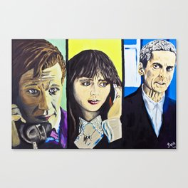 Is that the Doctor? Canvas Print