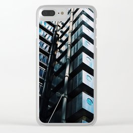 Mirrored Apartments Clear iPhone Case