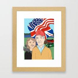 Loomis Portrait Framed Art Print