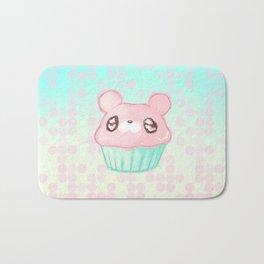 Cupcake Bear Bath Mat