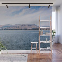 View from the Sea of Galilee Wall Mural