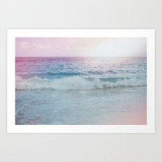 Cali Ocean Vibes Art Print