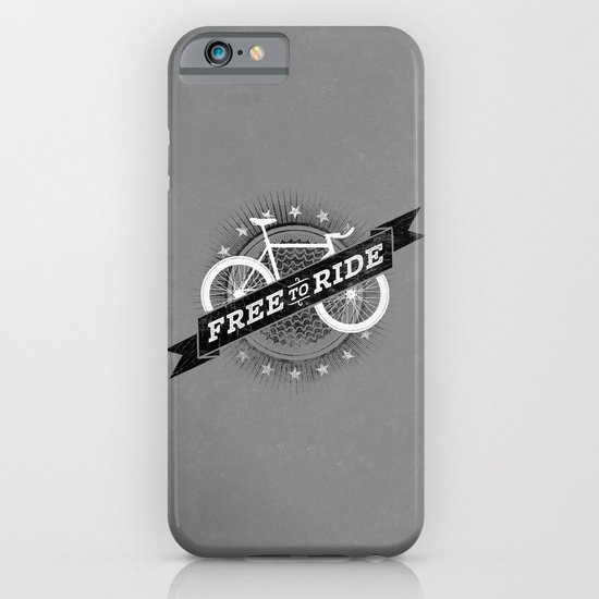 Free To Ride iPhone & iPod Case