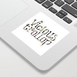 Vicious Trollop Sticker
