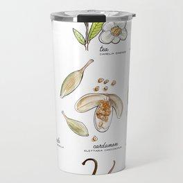 tea botanicals | series Travel Mug