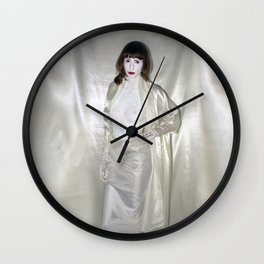 "say no to patriarchy / ""the fashion"" Wall Clock"