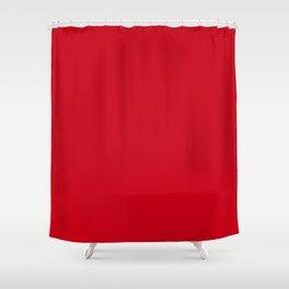 Harvard Crimson - solid color Shower Curtain