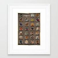 babina Framed Art Prints featuring ARCHIDIRECTOR_city by federico babina