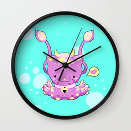 Monster Octo-Kitty Wall Clock