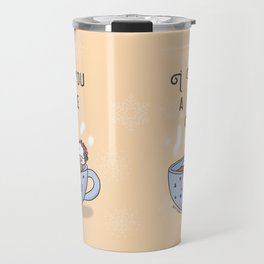 I love you a whole latte Travel Mug