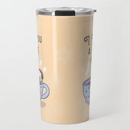 I love you a whole latte Travel Mug