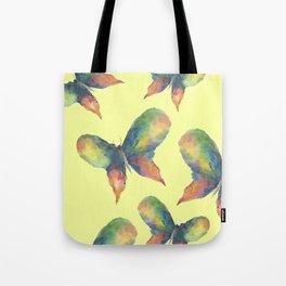 Rainbow Butterflies Tote Bag