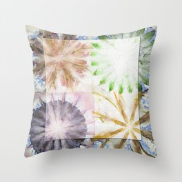 Controlling Hallucination Flower  ID:16165-151730-87231 Throw Pillow