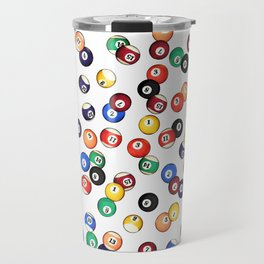 Pool Balls Travel Mug