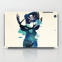 hook iPad Cases featuring Captain Hook by Robert Farkas