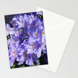 Indigo Azaleas Stationery Cards