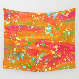 Splatter paint 6 Wall Tapestry