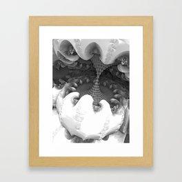 Graphite Terminal Framed Art Print