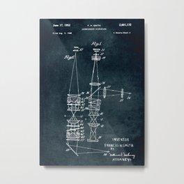 1948 - Interference microscope Metal Print