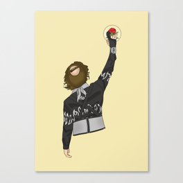 Finally, Big Ern is above the law! Canvas Print